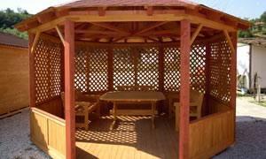 gartenpavillons aus holz gartenpavillons. Black Bedroom Furniture Sets. Home Design Ideas