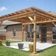 Garten-Pergola aus Holz